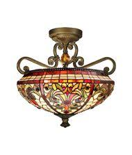 dale tiffany tiffany glass table l stained glass lights