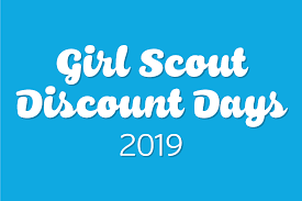 Girl Scout Discount Days 2019 – Girl Scouts Of Western Ohio Blog Girl Scouts On Twitter Enjoy 15 Off Your Purchase At The Freebies For Cub Scouts Xlink Bt Coupon Code Pennzoil Bothell Scout Camp Official Online Store Promo Code Rldm October 2018 Mr Tire Coupons Of Greater Chicago And Northwest Indiana Uniform Scout Cookies Thc Vape Pen Kit Or Refill Cartridge Hybrid Nils Stucki Makingfriendscom Patches Dgeinabag Kits Kids