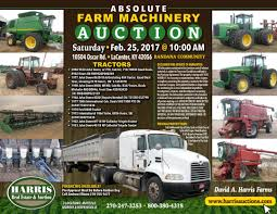 SATURDAY, February 25TH, 2017 @ 10:00 AM - Harris Auction Semi Trucks Accsories For Sale Commercial Truck Auctions Online Used Car Marketplace Startup Beepi Launches Auction Service Spring Machinery March 24 2017 Holdrege Nebraska 247 Cheap All Ldon Breakdown Recovery Tow Someone Is Auctioning Off A 1942 Wwii Army Turned Camper Online Only Auction Tools Trailers Lawn Mower More Ritchie Bros Orlando Offers To Global Buyers 2004 Chevy Silverado K1500 4 Wheel Drive Uc Heavytruck Fort Wayne In Heavy Equipment Outlook February Goodyear Auction 11 Scale Lego Truck Charity Weernstartrkauction Dealers Australia