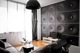 3d wandpaneele lautsprecher motive wandgestaltung loft