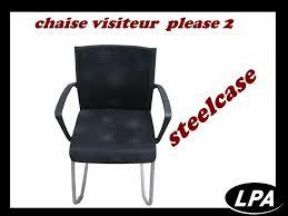 chaise visiteur bureau chaise visiteur steelcase 2 chaise mobilier de