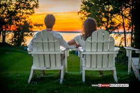 cialis commercial bathtubs and groom lounging on lawn chairs the sunset on the