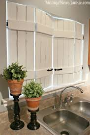 Kitchen Curtain Ideas With Blinds by Best 25 Kitchen Window Curtains Ideas On Pinterest Farmhouse