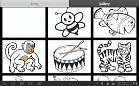 Kids Coloring Book Poster Apk Screenshot
