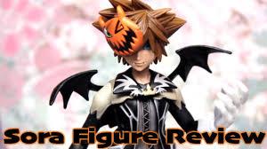 Sora Halloween Town Keyblade by Kingdom Hearts Halloween Sora Figure Review U0026 Unboxing Youtube