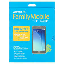 Walmart Family Mobile Samsung Galaxy Grand Prime Smartphone Gray