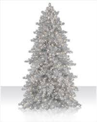 Sale 7 Ft Narrow Silver Tinsel Artificial Christmas Tree