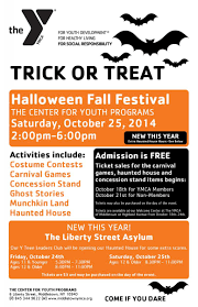 Date Halloween 2014 by Halloween Fall Festival The Center Ymca Of Middletown