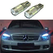 2x t10 led w5w car led auto l 12v clearance parking light bulbs