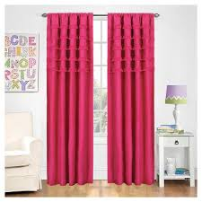 Pink And Purple Ruffle Curtains by Pink Ruffle Curtains Target