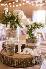 Wedding Table Decoration Ideas Rustic