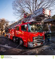 Japanese Fire Truck Editorial Photo. Image Of Safety - 71286751