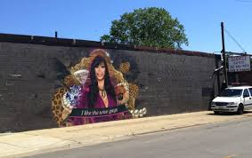 the big ang street mural