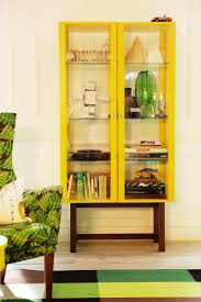 Display Cabinet Ikea To Match Your Living Room Furniture Yellow Wood With