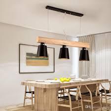 großhandel moderne pendelleuchten holz led küchenleuchten led le esszimmer hängele deckenleuchten leuchten für lange tischleuchten delin