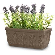 Dark Marbled Clay Wholesale Flower Pots
