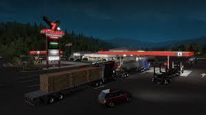 100 Uk Truck Simulator American Oregon On Steam