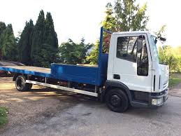 Iveco Eurocargo 7.5 20ft Flatbed Truck Ideal Scaffold Lorry,lez ...