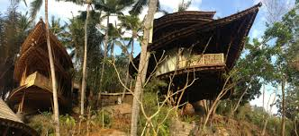 100 Ibuku Stunning Multilevel Bamboo Home Stands Deep In The Mountains Of Bali