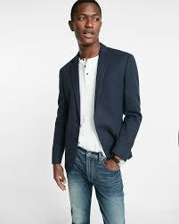 men u0027s navy blazer white henley shirt blue jeans men u0027s fashion