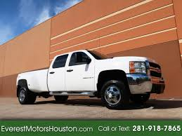100 Used Diesel Trucks For Sale In Texas 2009 Chevrolet Silverado 3500HD LS CREW CAB LWB 4WD DRW