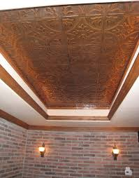 copper ceiling tile with copper sted tiled ceiling with knotty