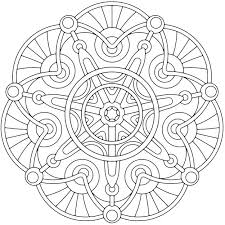 Mandala Coloring Pages Adults Printable Free For Image