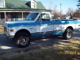1972 Chevy Cheyenne 4x4 California Truck Factory A/c - The BangShift ...