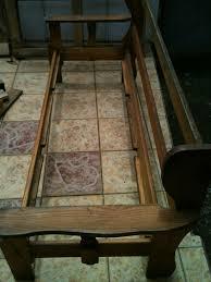 rénovation canapé récup rénovation canapé créations et meubles en bois de