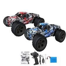 100 Rc Model Trucks Remote Control Car High Speed 30KMH RC Electric Monster Truck