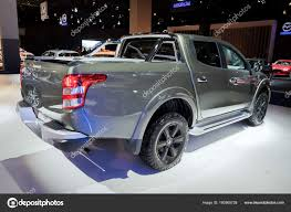 Brussels Jan 2018 New Mitsubishi L200 Triton Pickup Truck Shown ... Possibilities Of The New 2019 Mitsubishi Raider Allnew L200 Debuting At Geneva Motor Show Carscoops Fiat Sign Mou On Development Midsize Truck Used 2013 Mitsubishi Fe160 Crew Cab Dump Truck For Sale In New Pick Up Stock Photos Fuso Canter 9c18 Tipper 2017 Exterior And Minicab Wikipedia Distributor Resmi Truk Indonesia Danmark 1992 Fk Salvage For Sale Hudson Co 168729