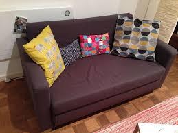 Beddinge Sofa Bed Slipcover Ransta Dark Gray by Two Seat Sofa Bed Ransta Dark Grey Ullvi Ikea Good Condition