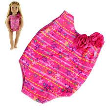 Moaere 2 Sets Doll Summer Bikini Swimwear Swimsuits Bathing Suits