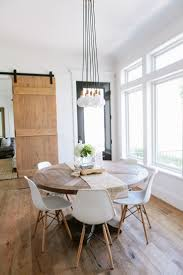 Modern Dining Room Sets by Best 25 Round Farmhouse Table Ideas On Pinterest Farmhouse