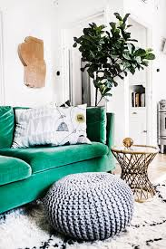 the trend for 2017 stylish emerald green sofas