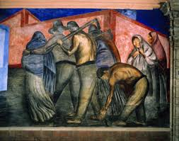 Jose Clemente Orozco Murales San Ildefonso by Art Through Time A Global View The Working Class Detail