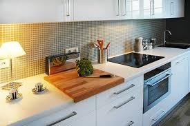 cuisine mosaique mosaique cuisine credence decoration salle de bain blanche image