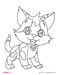 dessin pour imprimer coloriages pour fille le chat