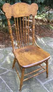 King Edwards Chair by Victorain Edwardian Canadian Pressback Chairs
