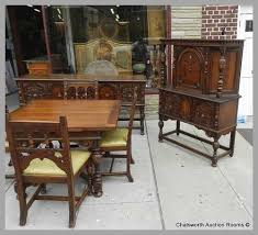 Antique Dining Room Furniture 1930 Marvelous S Jacobean Set Rooms Of