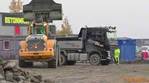 100 Dump Trucks Videos Volvo L180G Loading Volvo FH 540 Truck YouTube
