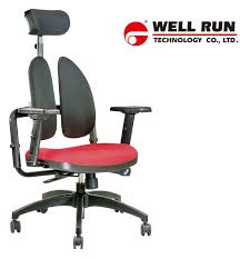 Office Chair With PU Casters, Ergonomic Chair, Twin Back ... High Back Black Fabric Executive Ergonomic Office Chair With Adjustable Arms Rh Logic 300 Medium Back Proline Ii Deluxe Air Grid Humanscale Freedom Task Furmax Desk Padded Armrestsexecutive Pu Leather Swivel Lumbar Support Oro Series Multitask With Upholstery For Staff Or Clerk Use 502cg Buy Chairoffice Midback Gray Mulfunction Pillow Top Cushioning And Flash Fniture Blx5hgg Mesh Biofit Elite Ee Height Blue Vinyl Without Esd Knob Workstream By Monoprice Headrest