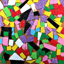 16 Easy Art Activities For Your 4 Year Old Foam Mosaics