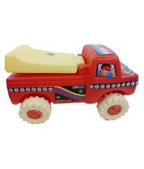 100 Truck Loader 3 Komal Plastics With Hard Wheels Plastic Baby Toy