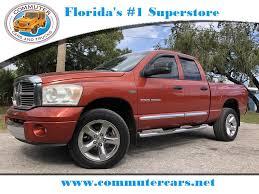 Used 2007 Dodge Ram 1500 Laramie 4X4 Truck For Sale Stuart FL ...