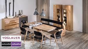 voglauer v alpin speisezimmertisch eckig wähle aus 4 maßen und 2 holz arten