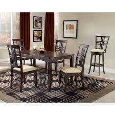 hillsdale furniture tiburon 5 piece espresso dining set 4917dtbc