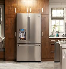 48 Cabinet Depth Refrigerator by Ge Café Series Energy Star 22 2 Cu Ft Counter Depth French