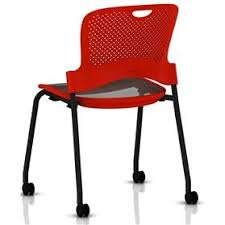 Herman Miller Caper Chair Colors by Herman Miller Caper Stacker Chair With Flexnet Seat Black