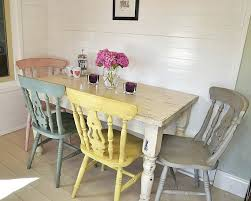 Painted Kitchen Table Ideas Lovely Chalk Paint Kitchen Table